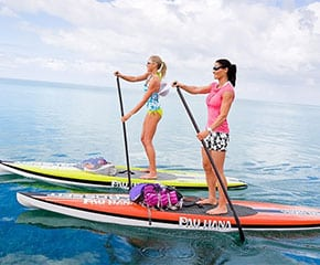 SUP rentals and SUP lessons