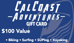 $100 Gift Card - Cal Coast Adventures