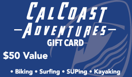 $50 Gift Card - Cal Coast Adventures