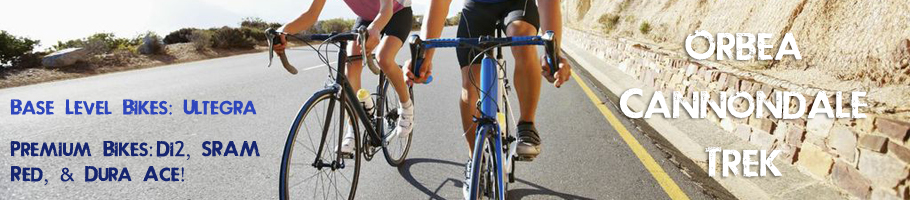Road Bike Rentals Santa Barbara - Cal Coast Adventures