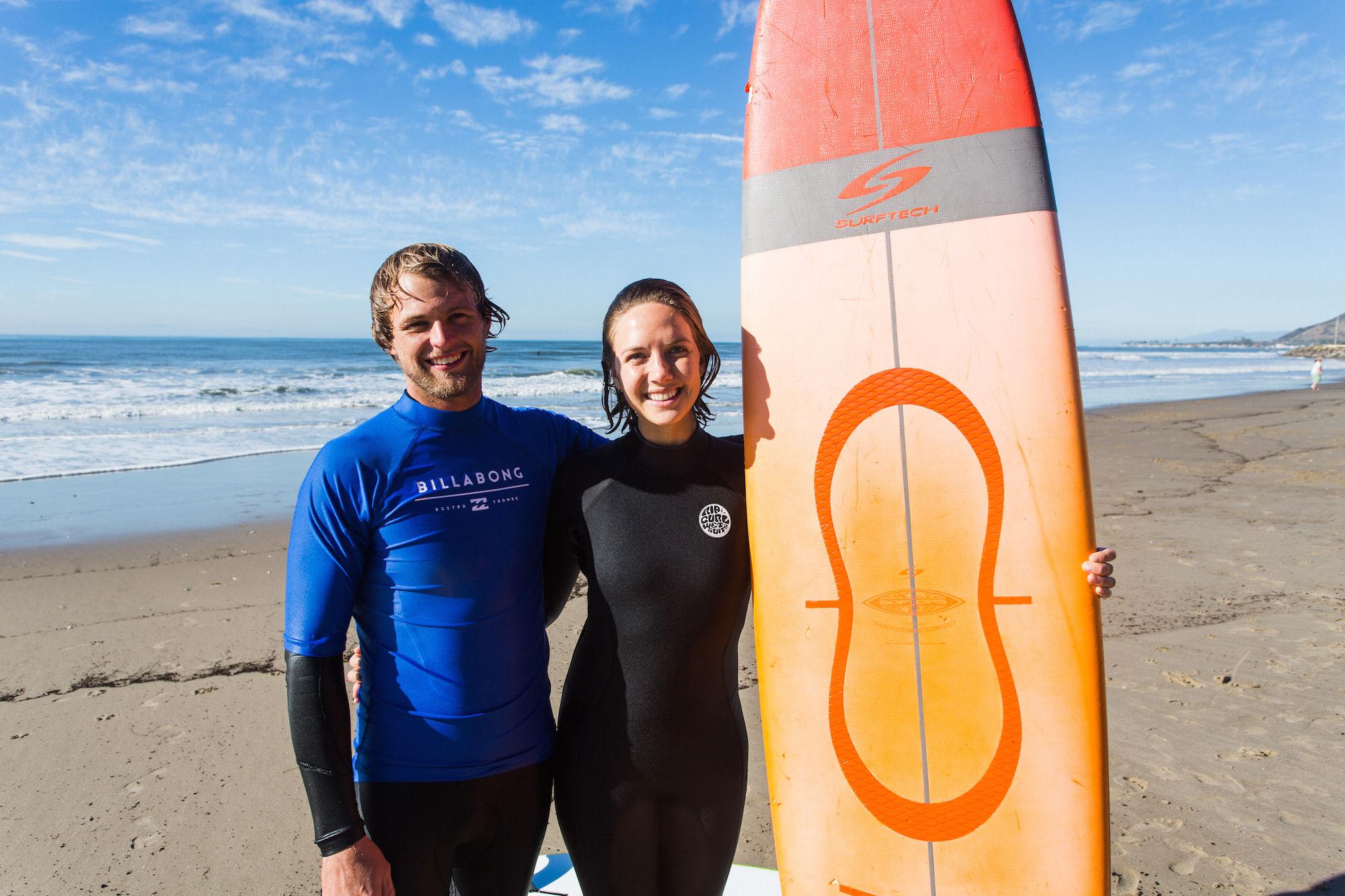 private surfing in santa barbara