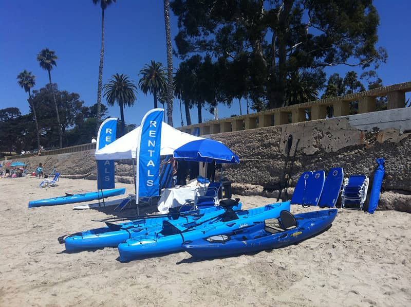 Butterfly Beach Kayak Rentals - Cal Coast Adventures