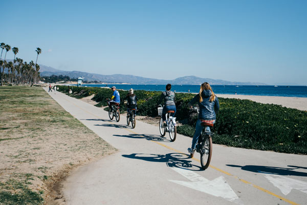 group electric bike tour
