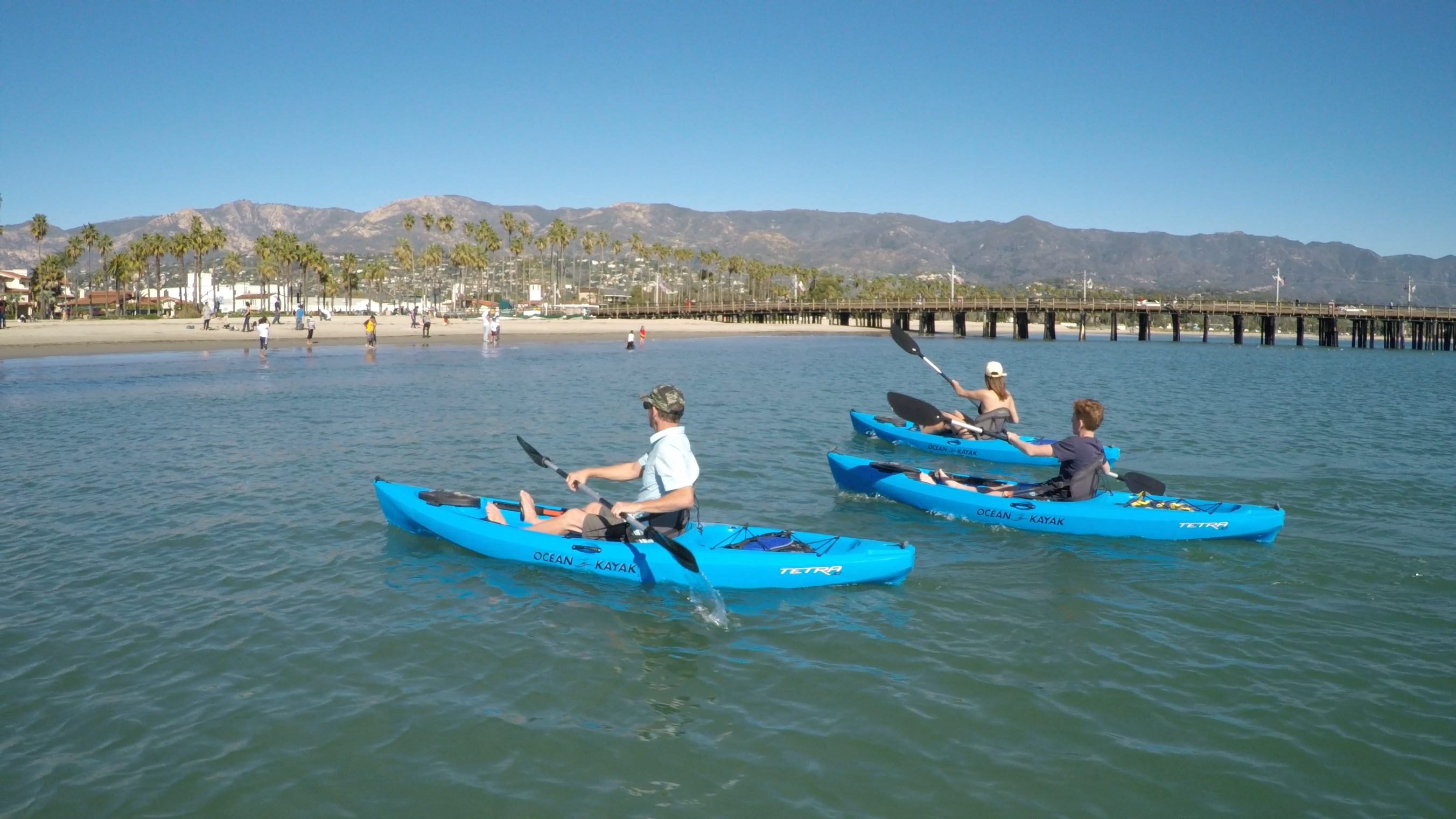 Kayak Tours Santa Barbara
