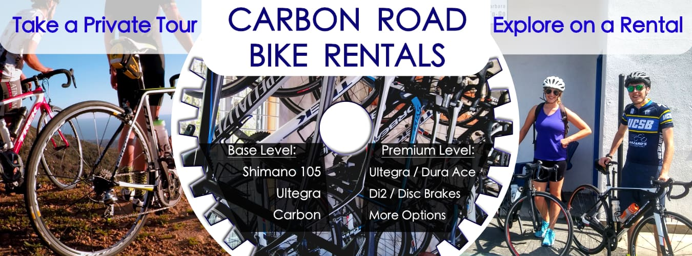 Road Bike Rental Shop in Santa Barbara