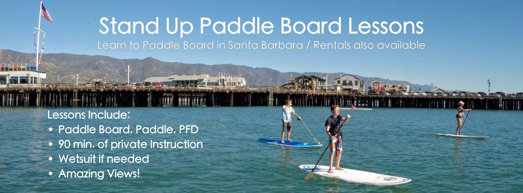 paddle board lesson