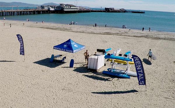 Stand Up Paddle Board Santa Barbara Beach