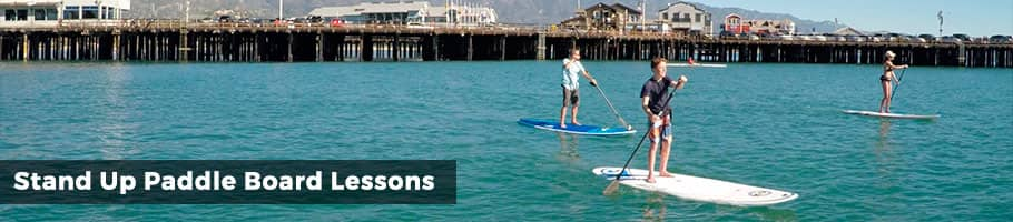 Stand Up Paddle Board Lessons Santa Barbara - Cal Coast Adventures