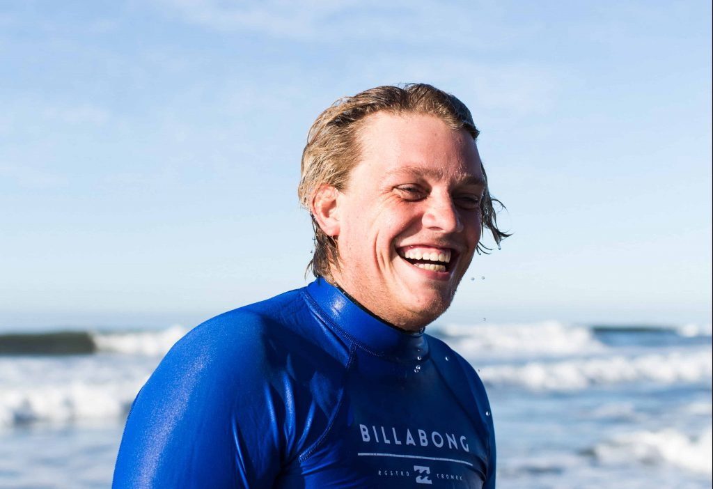 Kayak Tour Guide and Surf Instructor Sean Lappi