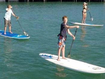 paddle board rental in santa barbara