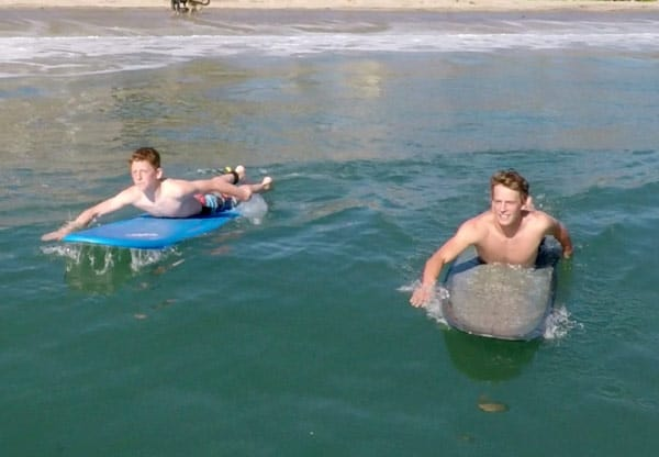 1-2 Person Surf Lesson - Cal Coast Adventures