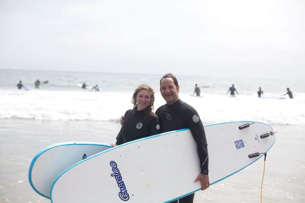 Surf Lessons in Santa Barbara 2 people - Cal Coast Adventures