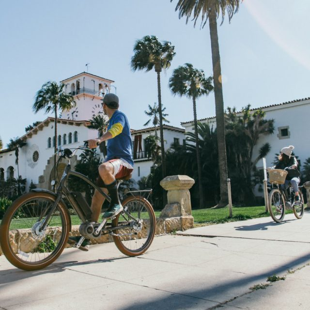 Santa Barbara Bike Tour with Views of the American Riviera and Harbor