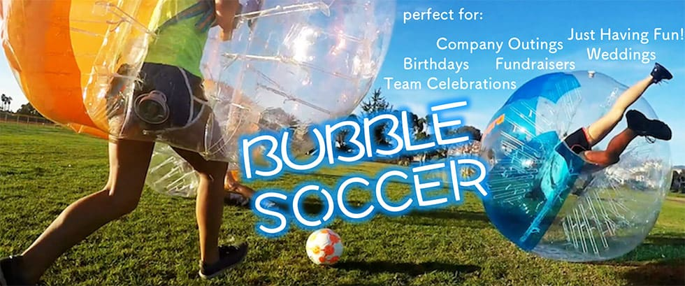 bubble soccer event