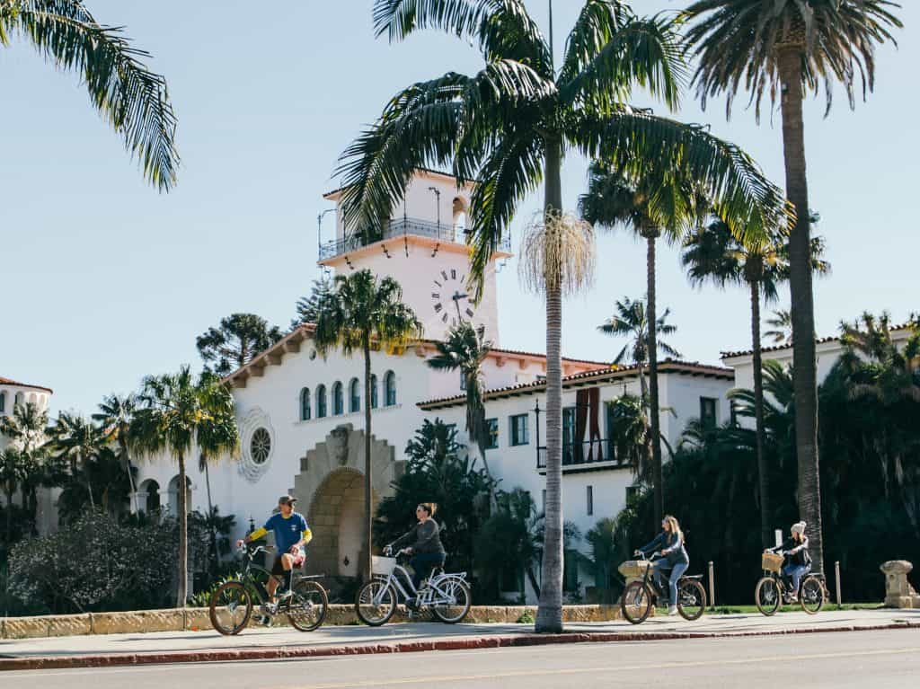 Santa Barbara Bike Tour with Views of the American Riviera and Landmarks