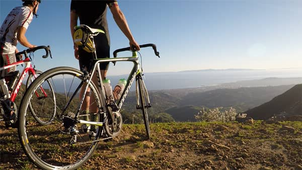 Road bike tour in Santa Barbara