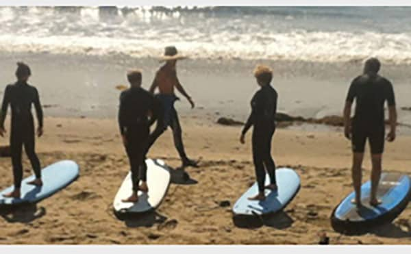 3+ Surf Lessons Cal Coast Adventures