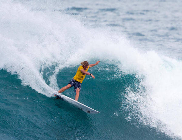 better turns after surf warmup