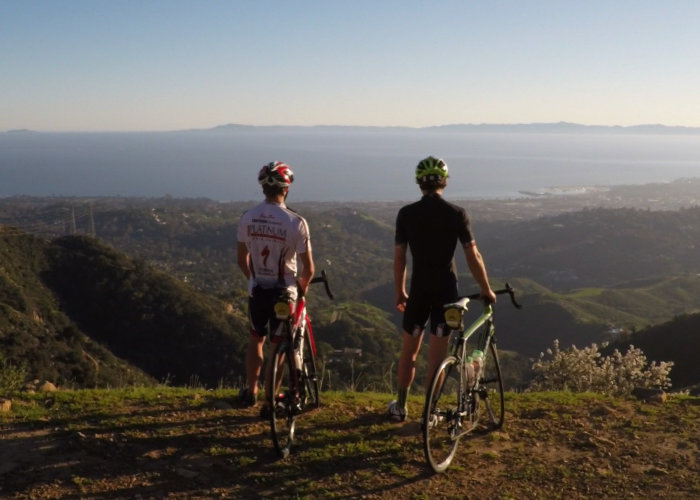 Santa Barbara Road Bike Tour with Views of the Channel Islands, American Riviera, and Harbor