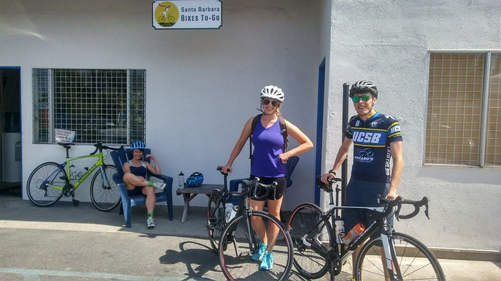 Road Bike Rentals in Santa Barbara. Carbon Road Bikes