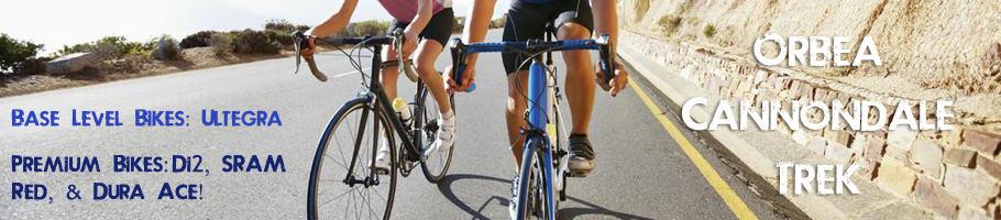 Road Bike Rentals Santa Barbara - Cal Coast Adventures
