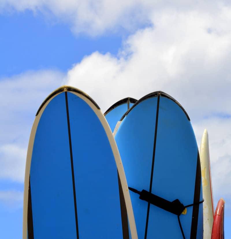 Surfboard Rentals - Cal Coast Adventures