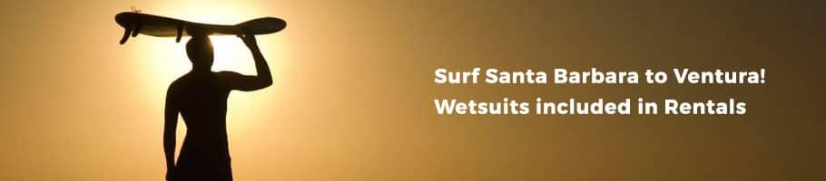 Surfboard Rentals Santa Barbara - Cal Coast Adventures