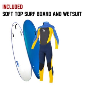 Surf Board Wetsuit and Board rentals